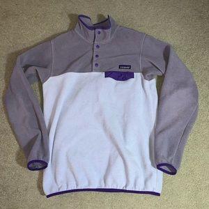 Patagonia Synchilla women M snap t sweater